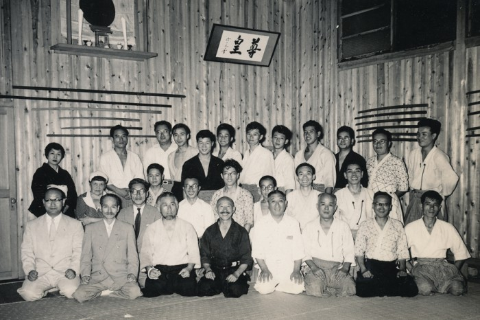 昭和32年度 明治神宮例祭奉納 合気道演武
