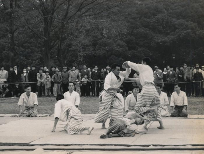 昭和37年度 明治神宮例祭奉納 合気道演武