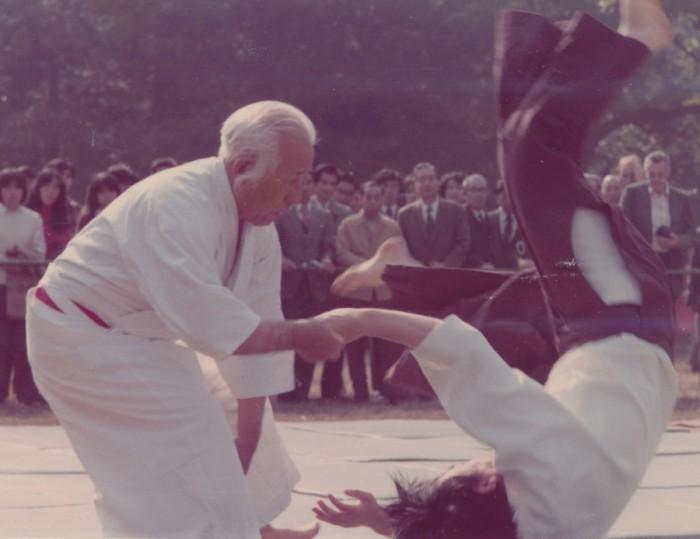 昭和51年度 明治神宮例祭奉納 合気道演武